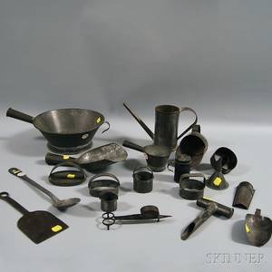 Group of Mostly Tin Kitchenware