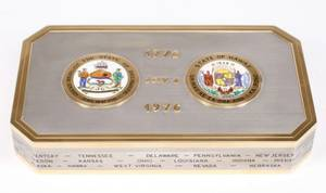 Bulgari US Bicentennial Commemorative Box 18K