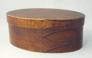 Shaker bentwood oval box