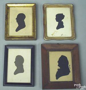 Four Peales Museum silhouettes