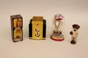 Group of 4 Perfume Bottles