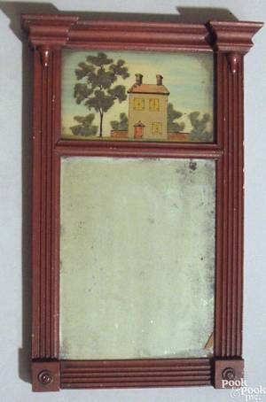 Pennsylvania Federal mirror ca 1820