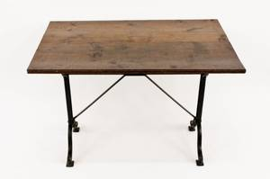 French Pine Top Bakery Table