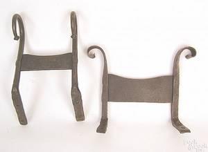 Pennsylvania wrought iron bootscraper ca 1800