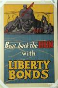 F Strothmann WWI poster titled Beat Back The Hun