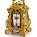 NAPOLEON III CARRIAGE CLOCK Attributed to Drocourt