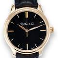 HMOSER  CIE 7 DAY POWER RESERVE LIMITED EDITION YELLOW GOLD H