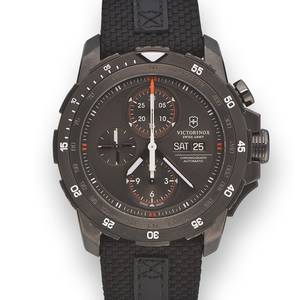 SWISS ARMY ALPNACH SPECIAL EDITION BLACK ICE PVD STEEL Swiss Army