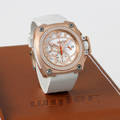 Wyler  Codes  Pink Gold Titanium Carbon Fiber  Diamond Chronograph Wyler