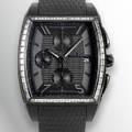 Villemont Aston T  Black Titanium  Diamonds Villemont