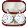 Juvet  Pair of Silver Watches Lo Juvet