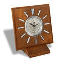 Jaeger Center Seconds Desk Clock Jaeger