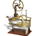 V Lefebvr e Larg e Wheel Cutting Engine V