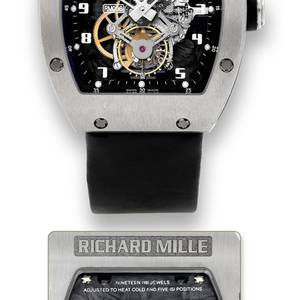 Richard Mille  Titanium  Tourbillon Carbon Fiber Movement Plate Richard Mille