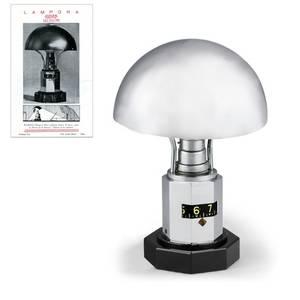 Jaeger Luxhora ArtDeco Table Lamp Clock Jaeger