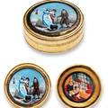 French Snuff Box With Erotic Scenes French