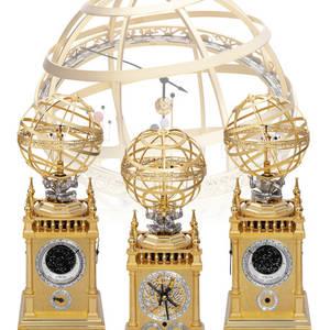 Orrery Astrolabium Celestial Clock Christiaan Van der Klaauw