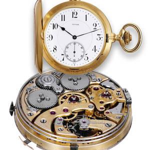Minute Repeating Grande  Petite Sonnerie Clockwatch Invar Achille Hirsch