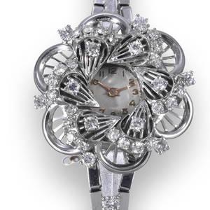 Diamond Flower Benrus Watch Co