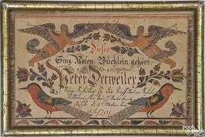 Johann Adam EyerPerkasie School Bucks County Pennsylvania active 17801820