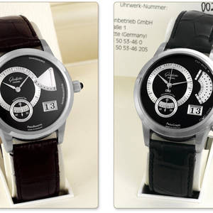 Glashtte  Platinum Panograph  Platinum Panoreserve  Set of Two Watches No