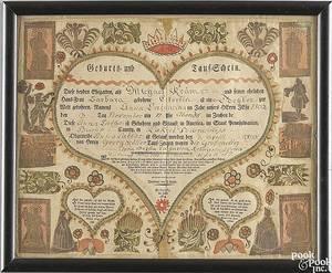 Johann Jacob Friederich KrebsDauphin County and Bucks County Pennsylvania active 17841812