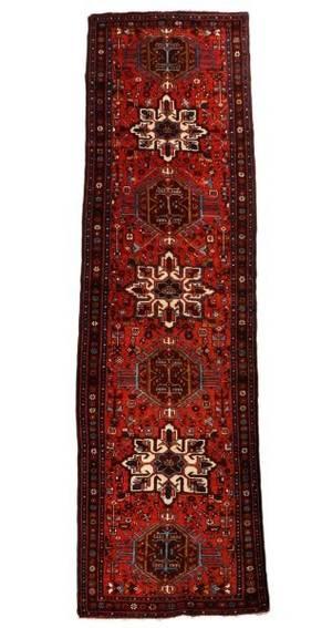 Large Hand Woven Persian Karajeh 3 3 x 13