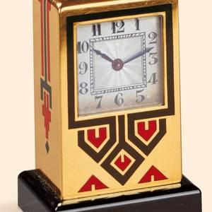 ArtDeco Miniature Clock No