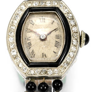 Diamonds And Black Onyx Leon Hatot