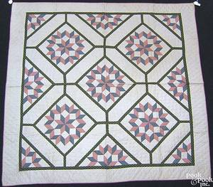 Vermont applique quilt ca 1900