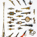 Twenty Six Watch Keys Swiss and French