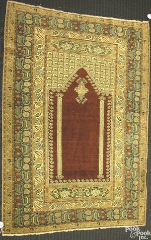Turkish prayer rug ca 1920