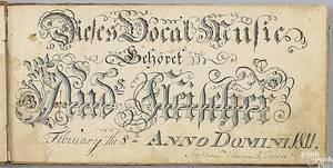 Wilhelmus Antonius FaberSoutheastern Pennsylvania active 17901818
