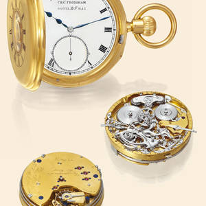 Grande  Petite Sonnerie Clockwatch Charles Frodsham
