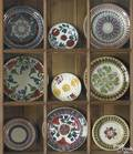 Fifteen stick spatter plates and bowls early 19th c