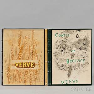 Verve Marc Chagall 18871985 and Georges Braque 18821963