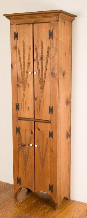 Realized price for habersham handcrafted pine jelly cupboard for Habersham cabinets cost