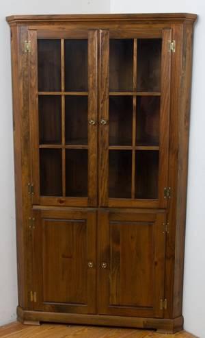 Mastercraft Pine Corner Cabinet
