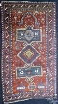 Kazak prayer rug late 19th c