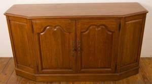 Davis Furniture Co Walnut Buffet Sideboard