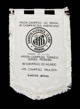 PEL SANTOS FC COMMEMORATIVE CHAMPIONSHIP BANNER