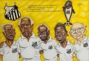 PEL SANTOS FC FANCLUB CARICATURE