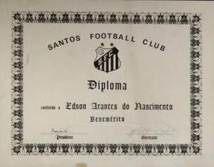 PEL SANTOS FC DIPLOMA