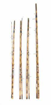 PEL 1960s USED FISHING RODS GROUP