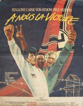 PEL 1981 ESCAPE TO VICTORY ORIGINAL FRENCH FILM POSTER